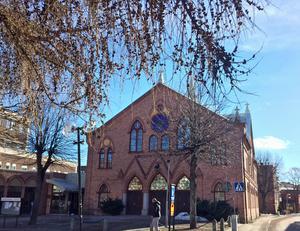 Missionskyrkan i Borlänge centrum.