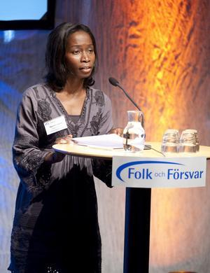 Individ före grupp. Integrationsminister Nyamko Sabuni är orolig för etniska enklaver.foto: scanpix