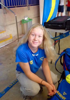 Hannah Brunzell är laddad inför nästa stora landslagsuppdrag