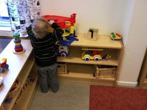Förskolorna i Östersund har inspekterats. En rad åtgärder måste till för att barnen ska få en optimal miljö. Foto: Hasse Holmberg / SCANPIX