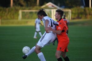 Tre mål blev facit för Bobo Sollander.