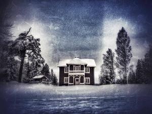 Januari: Så kom jag fram till Fredrika. I skymningen. Men det var ingen hemma.