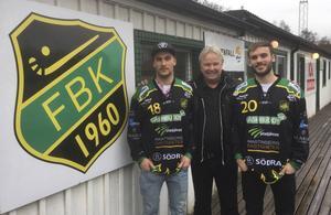 Fredrik Johansson, Lars-Johan Svanström och Mattias Johansson.