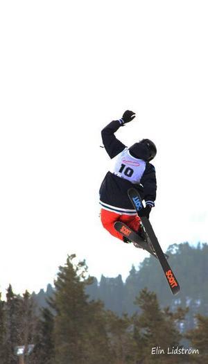 Skol-SM i slopestyle avgjordes i Ladängen under fredagen.
