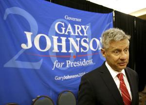 Kan Gary Johnson stjäla tillräckligt många av Trumps röster?