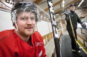Micke Pettersson lämnar snart Hudiksvall och HHC för studier i Umeå.