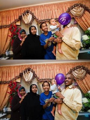 Familjen Abdi trivs i Sverige men saknar ändå hemlandet mycket.