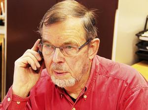 Anders Lagerqvist, ordförande i Tynderö bygdegårdsförening.