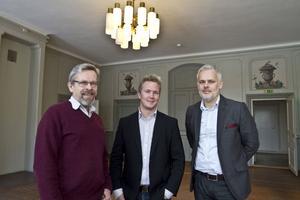 Efter år av sökande får Gävle Slott nya hyresgäster. Men Per Nelander som är förvaltare på Statens fastighetsverk har fått släppa önskemålet om att få in verksamheter som är öppna för allmänheten, istället hyr man ut ett våningsplan till reklamföretagarna Richard Häll och Peter Nordin.