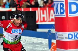 Ole-Einar Björndalen började tidigt att fokusera på årets viktigaste tävlingsvecka, VM i Sydkorea.