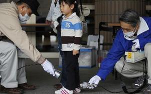 Efter kärnkraftsolyckan i Fukushima Japan. AP Photo/Hiro Komae,