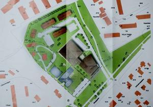 Rätt ritning. Pingstförsamlingen i Gävle vill bygga en ny kyrka, idrottshall, förskola, fritidsgård och seniorbostäder intill handelsträdgården i Hedvigslund i Gävle.