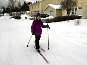 Elvaåriga Celina Frans är ständigt på språng, trots de omfattande operationerna hon har gått igenom.