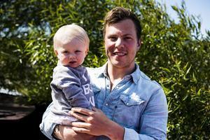 Erik Gustafsson och dottern Bonnie.