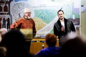 Jan-Eric Berger och Magnus Svensson, artikelförfattare som vill se renovering av skolköket i Trönö.