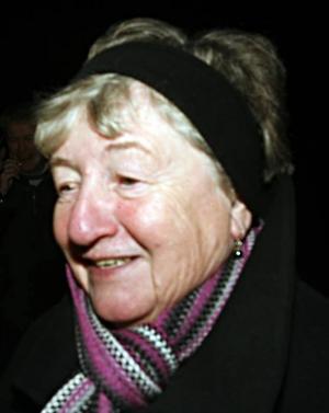 Maj-Lis Rask, 70 år, pensionär, Hedesunda–Ja, det tror jag. För att hon är den tjej som hon är, så positiv.