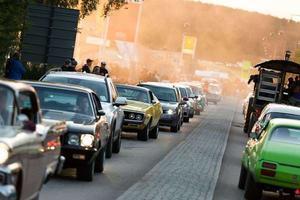 Det var under förra årets Classic Car Week som mannens bil kontrollerades. Arkivbild.