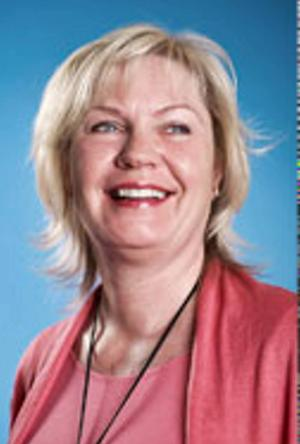 Gunilla Byström, projektledare för hattparaden som går av stapeln lördag 22 november.