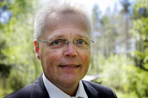 Landshövding Jöran Hägglund invigde sitt första naturresevat.