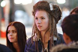 """Moa Lignell. En bild från """"Idol""""-gängets besök i Gävle förra året."""