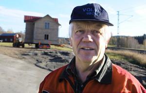 Lars-Erik Säll hade några stressade timmar, men allt löste sig till slut.