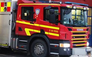 Räddningstjänsten Timrå brandstation.