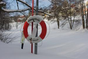 Upp och nervända världen i alla fall med vädret i Västerås. Var ute i helgen på hundpromenad, det var rejält kallt och man fick pulsa i snön. Det är mindre vinter i vår stuga i Norrland, man får väl fara dit snart för att slippa vintern...