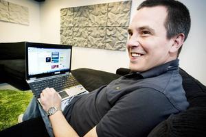 Magnus Bråth, grundare av sökmotorföretaget Brath.