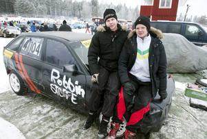 Från Värmland hade Christoffer Jansson och Robbin Eriksson åkt för att delta i Vintertävlingen.