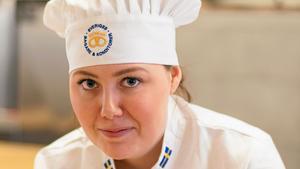 Kim Lund från Västerås, är Sveriges näst bästa unga bagare. På onsdagen avgjordes finalen i Göteborg.