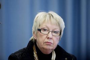 Ann-Margret Knapp (S), Hudiksvall, landstingsråd och landstingsstyrelsens ordförande. Ansvarsområden: Finans-, strategi- och personalfrågor.