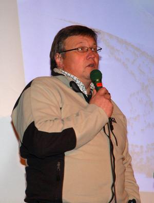 Benny Jonsson, Idre sameby, gav en skrämmande bild av renskötarnas vardagsliv där rovdjuren tar cirka 900 renar per år.