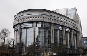 EU-parlamentet i Bryssel...