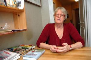 SKRIVARKURSER. Det var skrivarkurserna i Lövstabruk som fick Ann-Marie Wikander, Tierp, att åter ta upp sitt skrivande. Som barn drömde hon om att bli författare eller geolog.