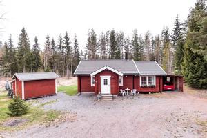 Mindre bostad som permanentboende eller fritidshus 15 minuter från Borlänge.