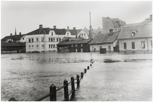 Vid Fisktorget utmed Östra Hamngatan. Foto: Skogqvist