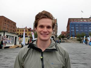 Björn Lindgren, Frösön som toppar riksdagslistan för Miljöpartiet i länet