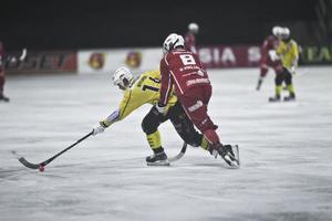 Jonas Nygren och Broberg var skäret före Kalix under större delen av matchen.