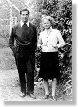 Bruno och Marianne 1938.