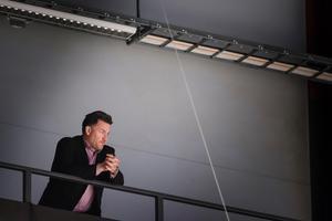 Stefan Bengtzén fick tidigare den här säsongen sparken som sportchef i Brynäs. Foto: Simon Hastegård/Bildbyrån