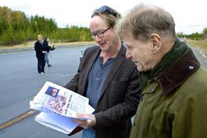 DT var först, Gunnar Asplund berättar för DT:s Bo Joffer att DT:s läsare var de första som fick läsa om hans nya elbilsvision 30 november 2010