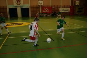 Rödvita Fjugesta mötte Finnerödja i en av gruppspelsmatcherna.