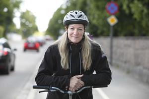 Anna Niska har under många år forskat om frågor som rör cykling.