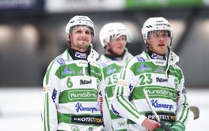 Simon Jansson tillsammans med Jesper Norrman och Oscar Gröhn.