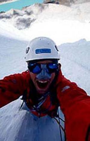Toppenkille. Fredrik Sträng, Gävlebo och den förste svensk som nått toppen på Dhaulagiri i Nepal.