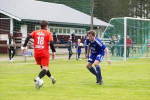 Emil Dalesten utmanar på kanten.