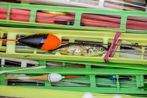 Anpassa flötet efter det du fiskar efter. Små arter - små flöten.