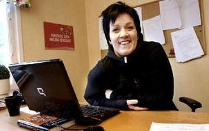 Arbetet inom kamratstödsgruppen ska bygga på respekt och förtroende säger Therese Hansson.FOTO: MIKAEL ERIKSSON