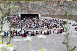 FUllsatt. Runt 1 600 sjöng med i Griggebos allsång.