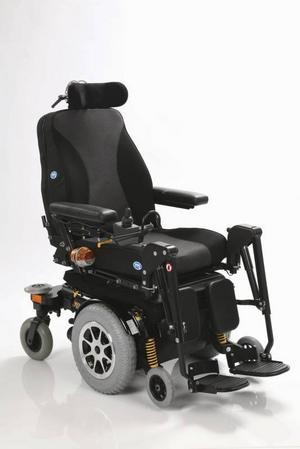 Exempel på andra hjälpmedel: Mini Crosser Jazzy 1121.